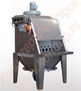 Растариватель мешков ручной (Н=900 мм) с фильтром и вентилятором