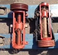 Механизм траверсы подъема в сборе со шкивом 3-х ручьевым к т/м А2-ХТ-3Б