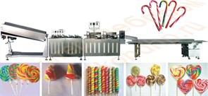 Линия производства леденцов, производительностью 150-300 штук/мин