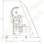 Мешкоопрокидыватель электромеханический цепной М-60 (Ц)