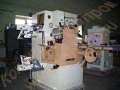 Машина для завертки корпусов конфет круглой, прямоугольной и продолговатой формы с плотной, твердой или пастообразной начинкой в «носок» EL-5 Nagema (Германия)