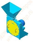 Дробилки молотковые для измельчения яичной скорлупы в муку, порошок,  крупку  ДМС-400/ДМС-800