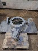 Каретка чугунная литая в сборе с металлическими колесами к дежам  объемом на 330 литров Т1-ХТ2Д; объемом 140 литров А2-ХТД