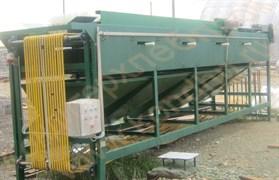 Машина калибровочно-сортировочная для разделения на фракции овощей, корнеплодов