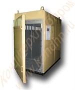 Термодымовая камера КТОМИ-300 двухрамная, нержавейка внутри (с тележками)