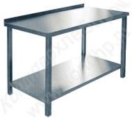 Столы разделочные (рабочие): с бортом, без борта